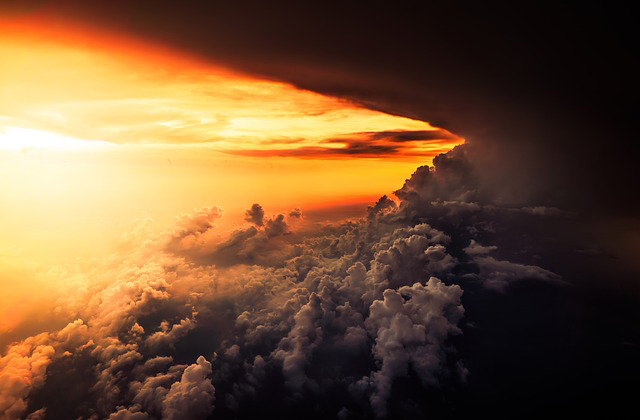 Writing Inspiration - Sky and Clouds - Caris Roane Paranormal Romance Author